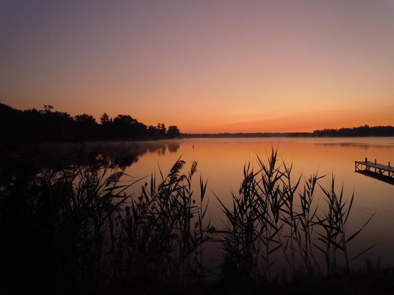 Union Lake sunrise