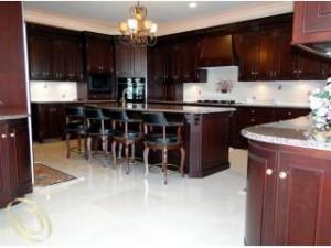 Luxury Kitchen Walnut Lake home