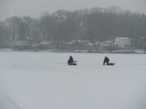 Union Lake fishing West Bloomfield Michigan
