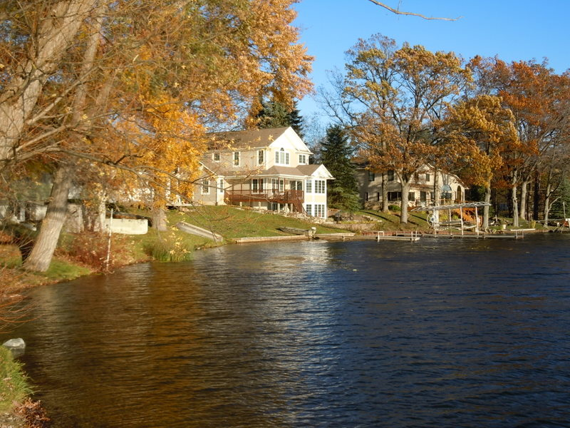 Big Lake waterfront properties