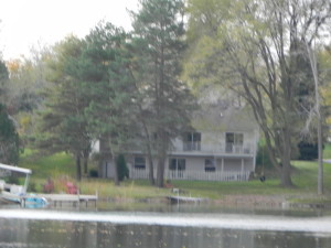 Lake house on Charlick Lake in Highland MI