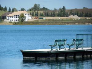 Waterfront homes Green Oaks Township Michigan
