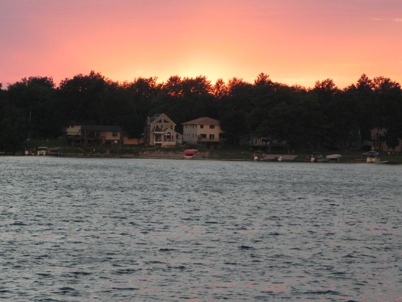 White Lake sunset White Lake Township Michigan