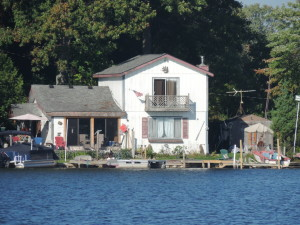 Lake house on Pontiac Lake in Oakland County