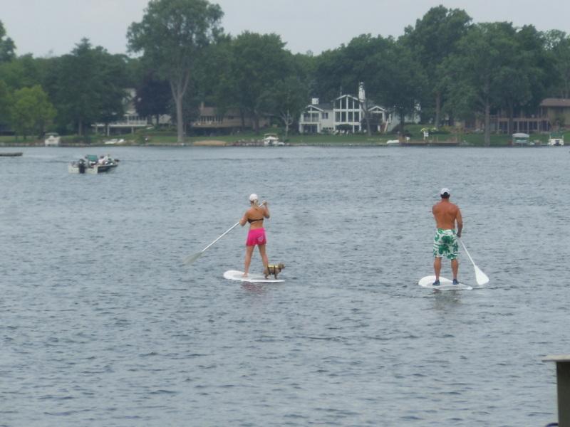 Paddle Boarding White Lake