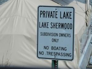 Lake Sherwood in Commerce MI