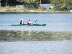 Kayaking on Van Norman Lake Waterford MI