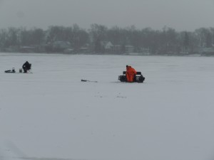Winter fun on Oakland County Lakes