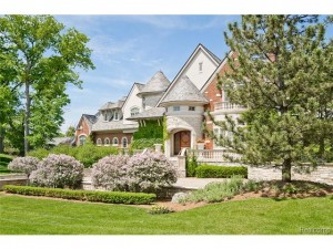 waterfront home for sale Bloomfield Township MI