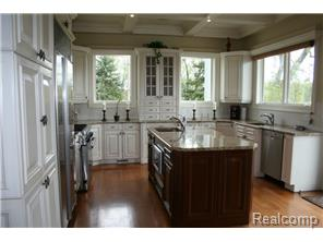 Outstanding Kitchen W/Coffered Ceilings