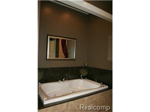 Soaker Tub in Master Bath