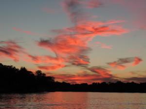 Sunset on White Lake in White Lake