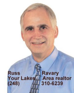 Russ Ravary your Lakes area realtor (248)310-6239