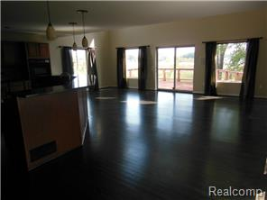 Open concept...foyer leads to kitchen & great room
