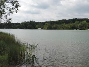 Deer Lake near Clarkston Michigan