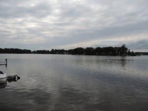 Oxbow Lake in White Lake Township Michigan