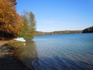 Dunham Lake in Oakland County