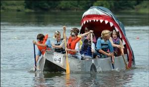 cardboard boat race pics (1)