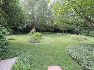 Private 1 acre back yard
