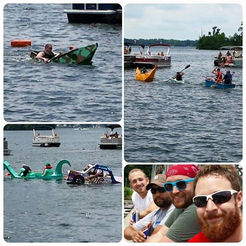 White Lake carboard boat races 2016