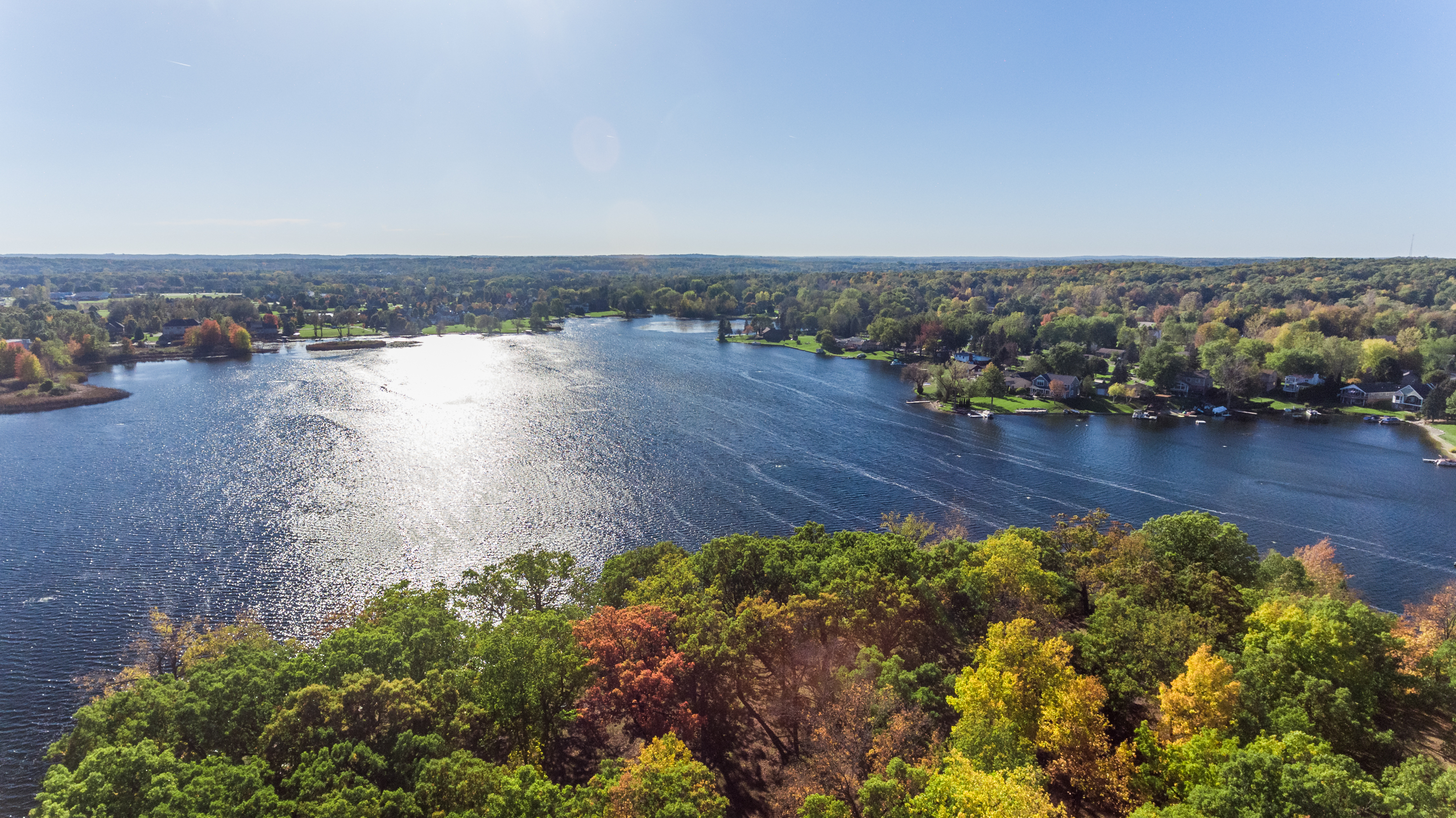 Lakefront homes for sale in Springfield Michigan - Oakland